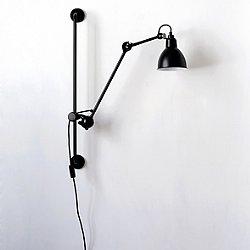 La Lampe Gras No 210 Swing Arm Wall Light