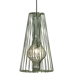 Wire Light Pendant (Green) - OPEN BOX RETURN