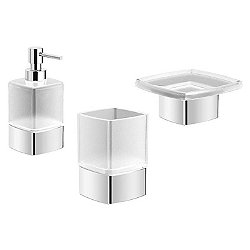 Geometri Bathroom Accessory Kit