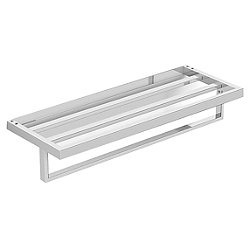 Sereniti Hospitality Shelf with Towel Bar