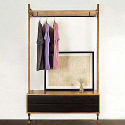 Theo Wall Unit Clothing Rack