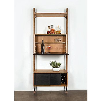 Wall Unit with Bar Counter