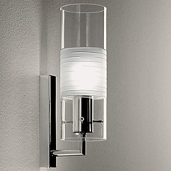 Xilo Wall Sconce (Clear/Frosted) - OPEN BOX RETURN