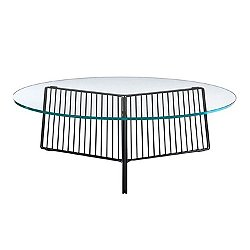 Anapo Coffee Table, Glass