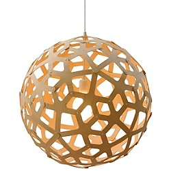 Coral Pendant (Natural Bamboo/39 Inch) - OPEN BOX RETURN