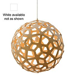 Coral Pendant Light (White/31 Inch) - OPEN BOX RETURN