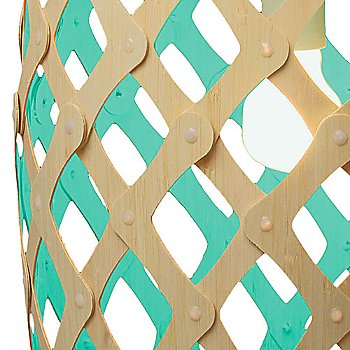 Aqua, shade detail