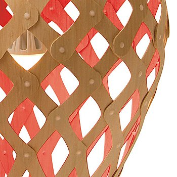 Natural / Red, shade detail