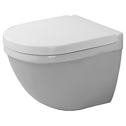 Starck 3 Compact Wall-Mounted Toilet With Durafix