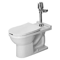 Starck 3 Floor Standing Toilet with Visible Inlet
