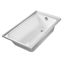 D-Code Bathtub With Tile Flange
