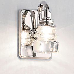 Rondelle Wall Sconce (120 Volt) - OPEN BOX RETURN