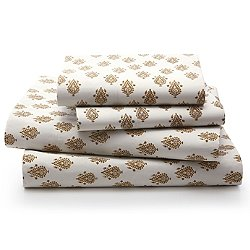 Flame Paisley Sheet Set