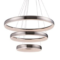 Imelda 3 Ring LED Pendant Light