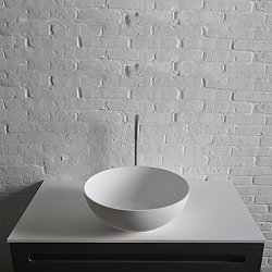 Thin Round Vessel Sink