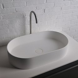 Thin Elongated Vessel Sink
