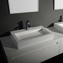 Square Rectangular Vessel Washbasin