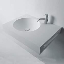 Next Wall Hung Sink with Towel Bar