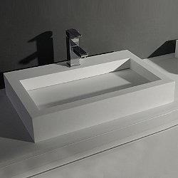 Square Wall Hung Sink