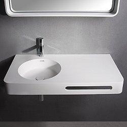 Brio Wall Hung Sink with Towel Bar