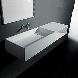 Pure Wall Hung Sink with Shelf