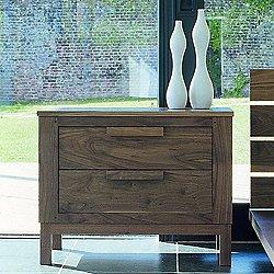 637 Weekend Wide Bedside Chest (W - American Black Walnut Wood) - OPEN BOX RETURN