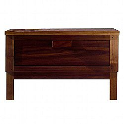 646 Weekend Single Drawer Bedside Chest