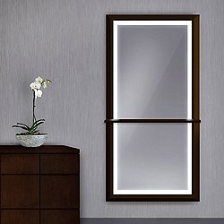 Boutique Lighted Wardrobe Mirror