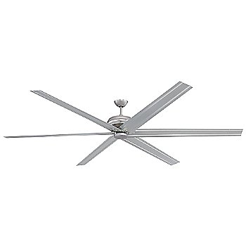 Shown in Brushed Satin Nickel finish with Brushed Satin Nickel Blades