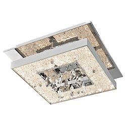 Crushed Ice Square LED Ceiling Light