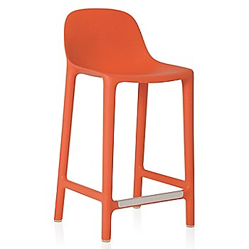 Orange finish/ Counter Height