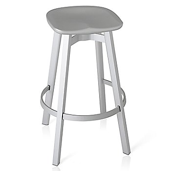 Flint seat color with Natural Anodized Aluminum base finish/ Bar Height