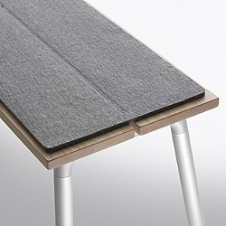 Run Bench Felt Seat Pad