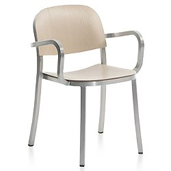 1 Inch Armchair, Wood Seat and Back