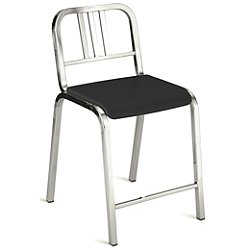 Nine-0 Counter Stool 3-Bar Back(Grey Frame/Aluminm)-OPEN BOX