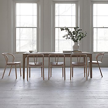 Pictured with the Romana Extension Table (sold separately)
