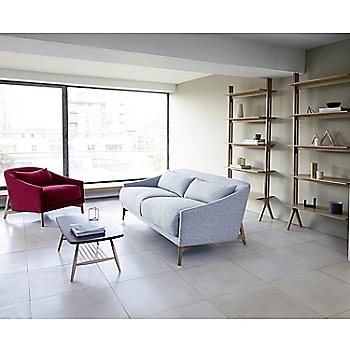 Pictured with the Pero Shelving Unit, Rho Armchair, and the Originals Coffee Table (sold separately)