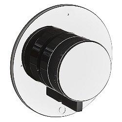 Decibel Three Way Diverter for Thermostatic with Metal Knob