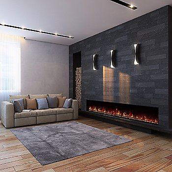 100-inch / Electric Firebox
