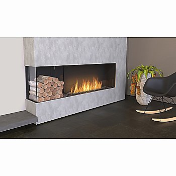 Flex Firebox - Left Corner with Decorative Sides