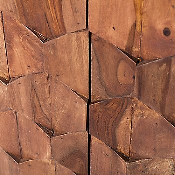 Detail - Diamond wood pattern