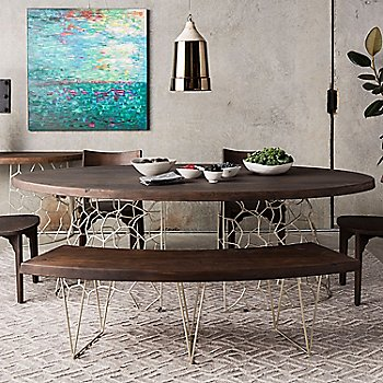 Lifestyle, shown with Ario Dining Table, Chairs, and Console