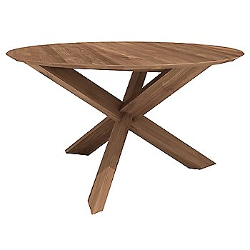 Ethnicraft Circle Dining Table Ylivingcom