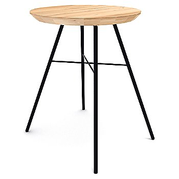 Oak Disc Stool