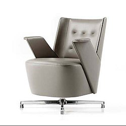 Embrace Lounge Chair, Low Backrest