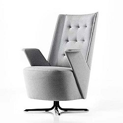 Embrace Lounge Chair, Medium Backrest