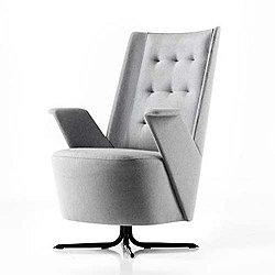 Embrace Lounge Chair, Medium Backrest
