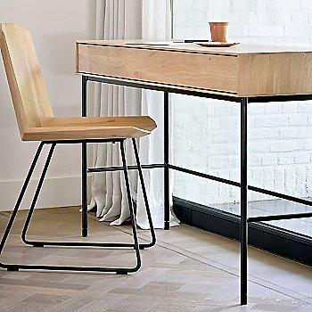 Oak Desk - 2 Drawers with Oak Facette Chair