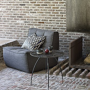 N701 1 Seater Sofa with Ancestors Tabwa Thin Side Table