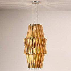 Stick LED Double Cone Pendant Light